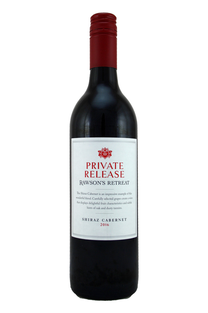 Penfolds Rawsons Retreat Private Selection Shiraz Cabernet 2016