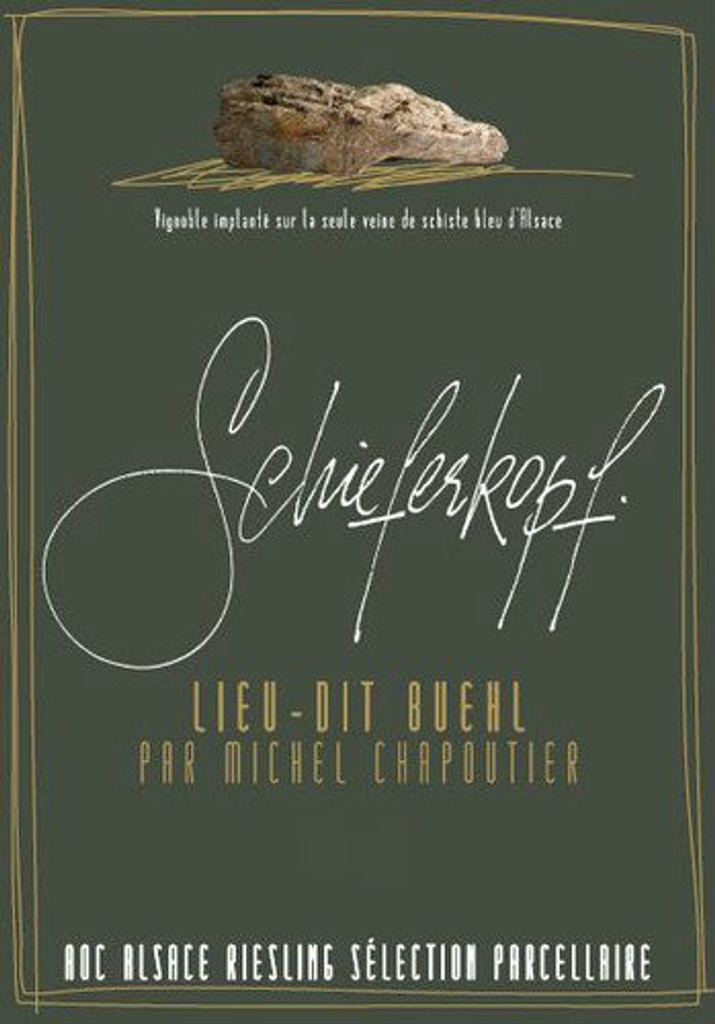 Lieu dit Buehl Riesling Schieferkopf by Chapoutier 2013