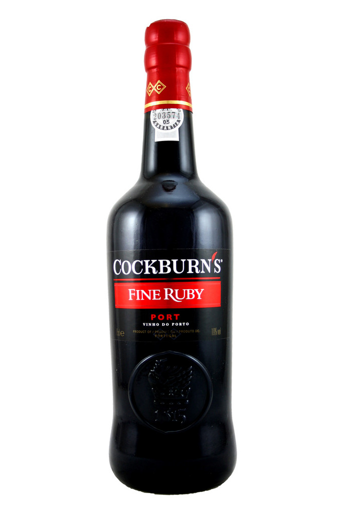 Cockburns Fine Old Ruby Port