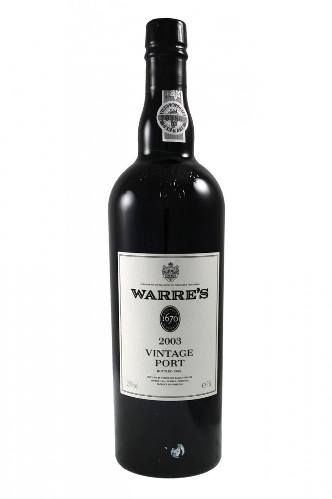 Warre's 2003 Vintage Port