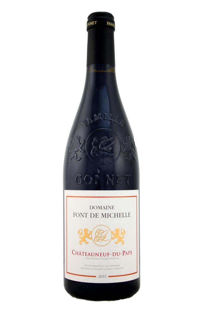 Chateauneuf de Pape Domaine Font Michelle 2015