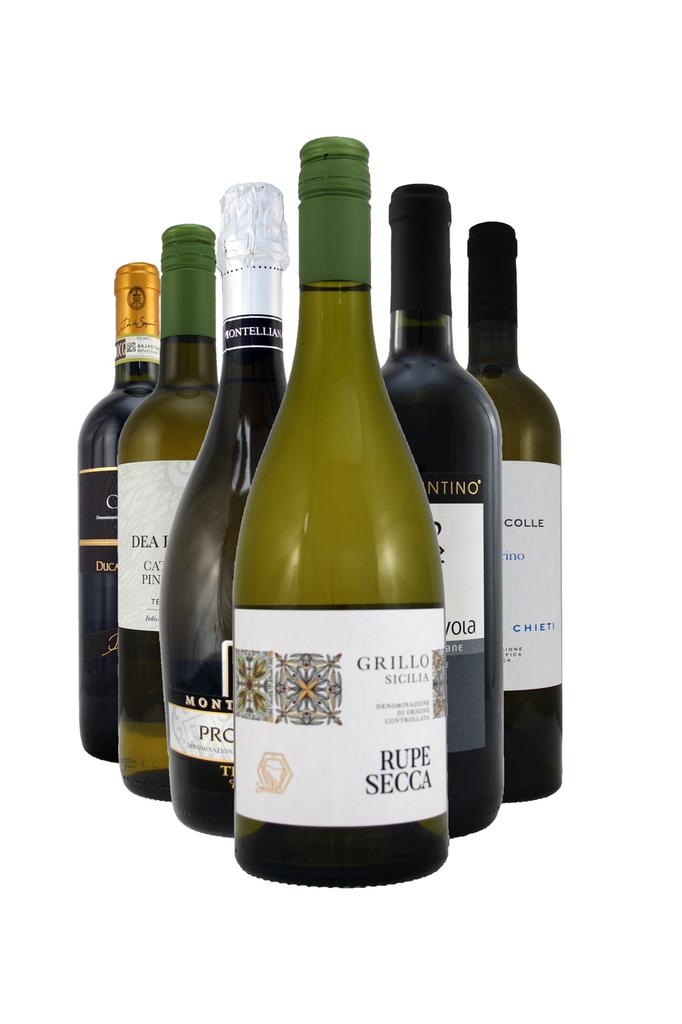 The Italian Job 6 Bottle Wine Selection Case
