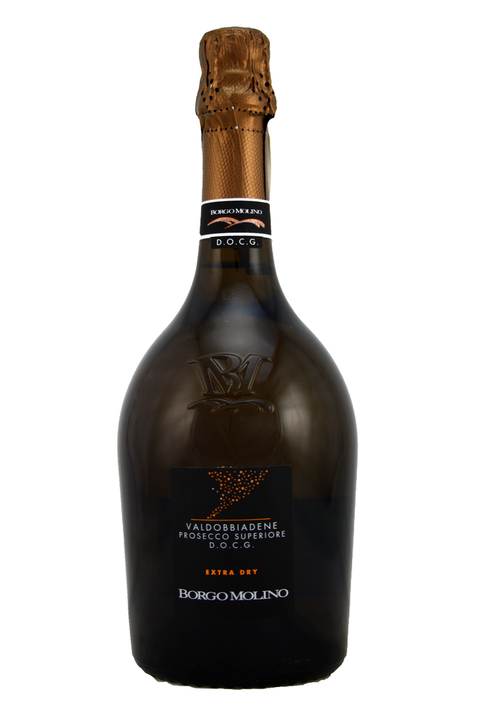 Classic example of Prosecco, hints of pear drops, crisp and fresh with a lively mousse.