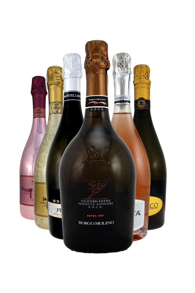 Purely Prosecco 6 bottle Mixed Selection Case
