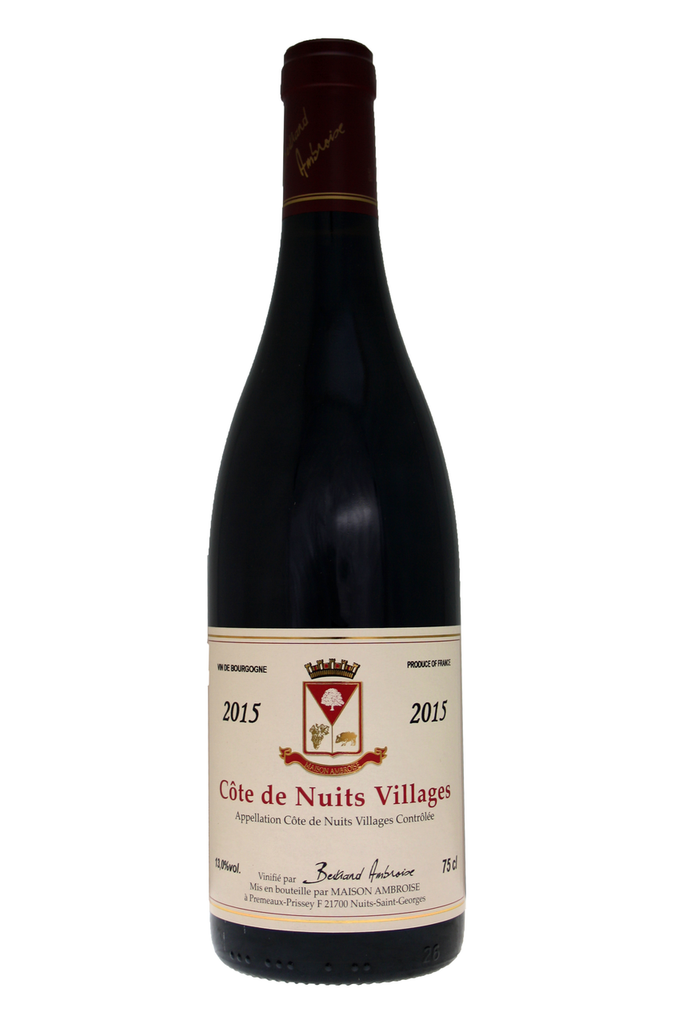 Cotes De Nuits Villages Bertrand Ambroise 2015