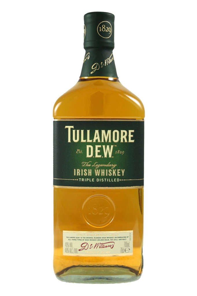 Tullamore Dew Irish Whiskey