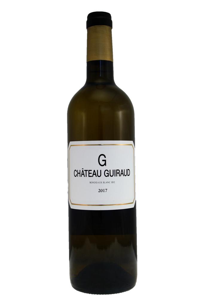 Le G de Château Guiraud Blanc, Bordeaux Sec, 2017