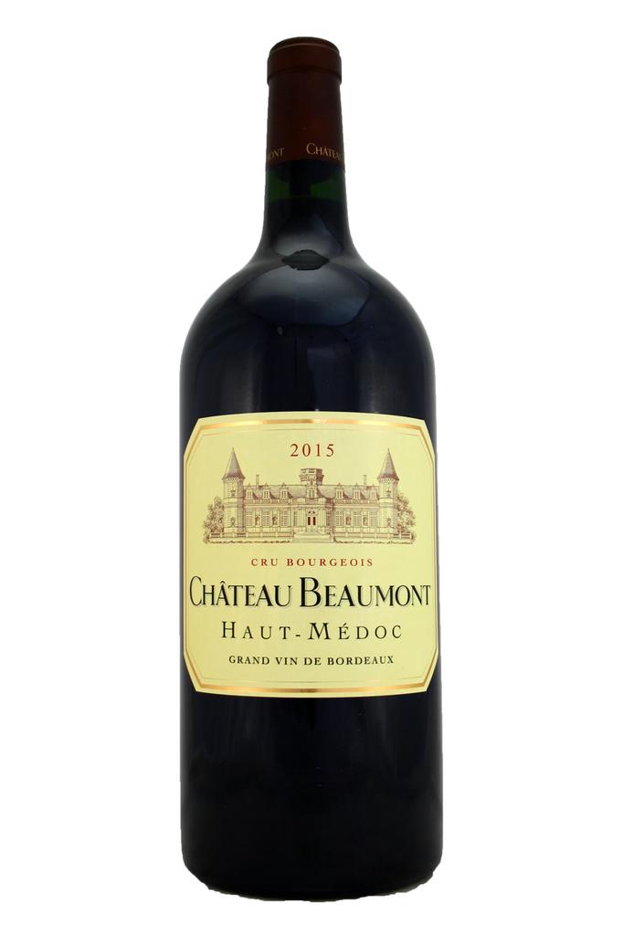 Château Beaumont 3ltr Double Magnum, Haut Medoc, Bordeaux, France 2015