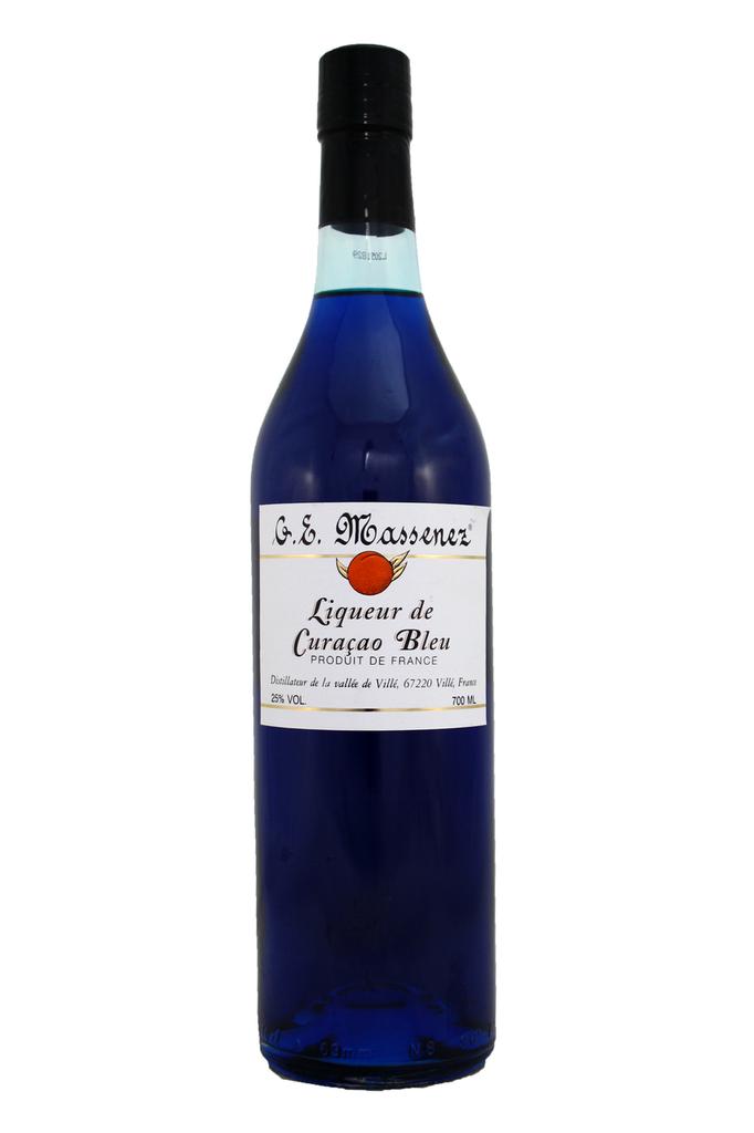 Liqueur de Curacao Bleu Massenez