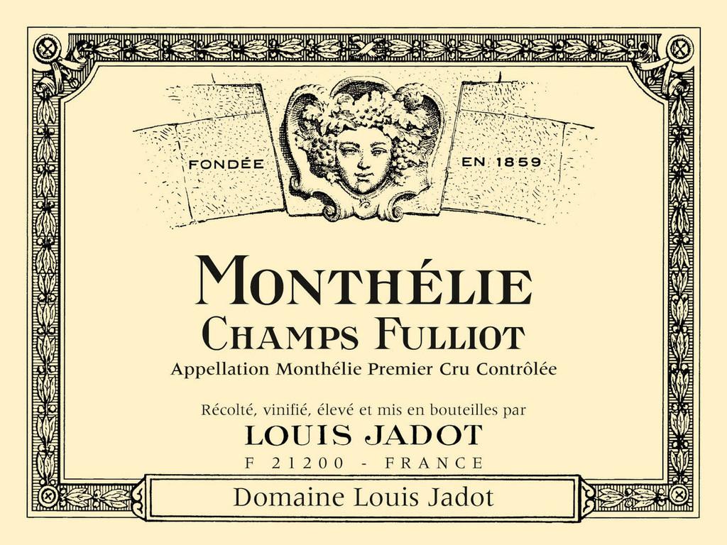 Monthelie 1er Cru Champ Fulliot Loius Jadot 2011