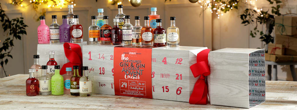 Flavoured Gin Advent Cracker