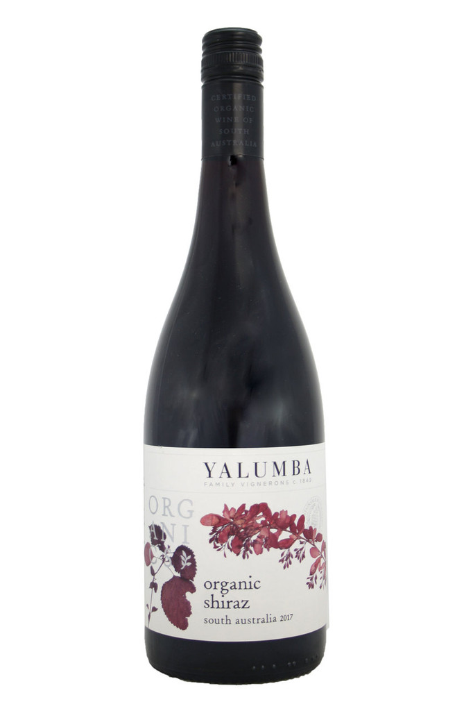Yalumba Organic Shiraz, South Australia, 2017