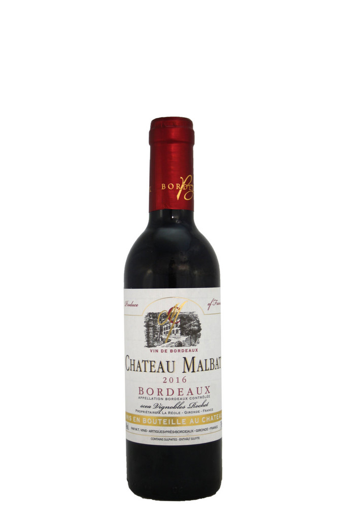 Chateau Malbat, Bordeaux, France, Half Bottle 2016