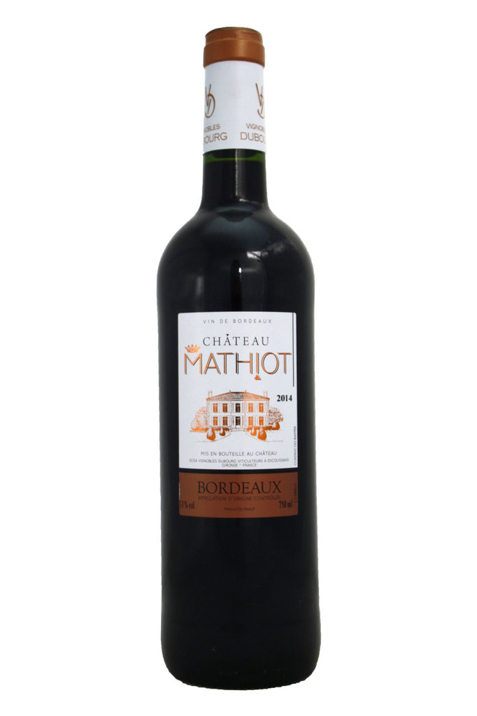 Château Mathiot Bordeaux Rouge 2014