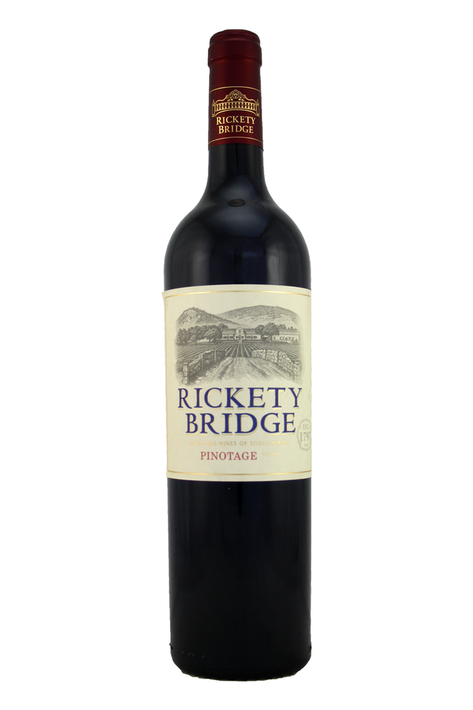 Rickety Bridge Pinotage, Western Cape, Franschhoek and Wellington regions, South Africa, 2017
