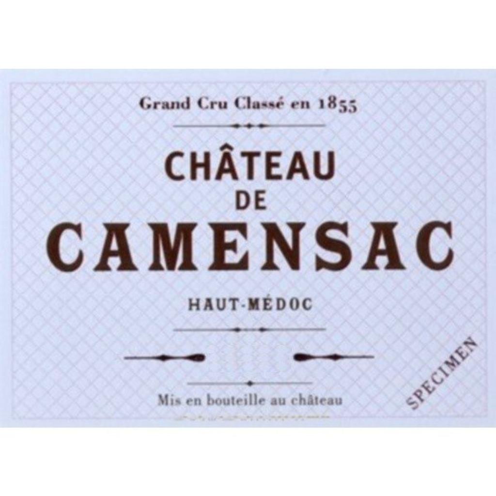 Château Camensac 2018 Haut Medoc Cinquieme Cru Classe 12 x 75cl