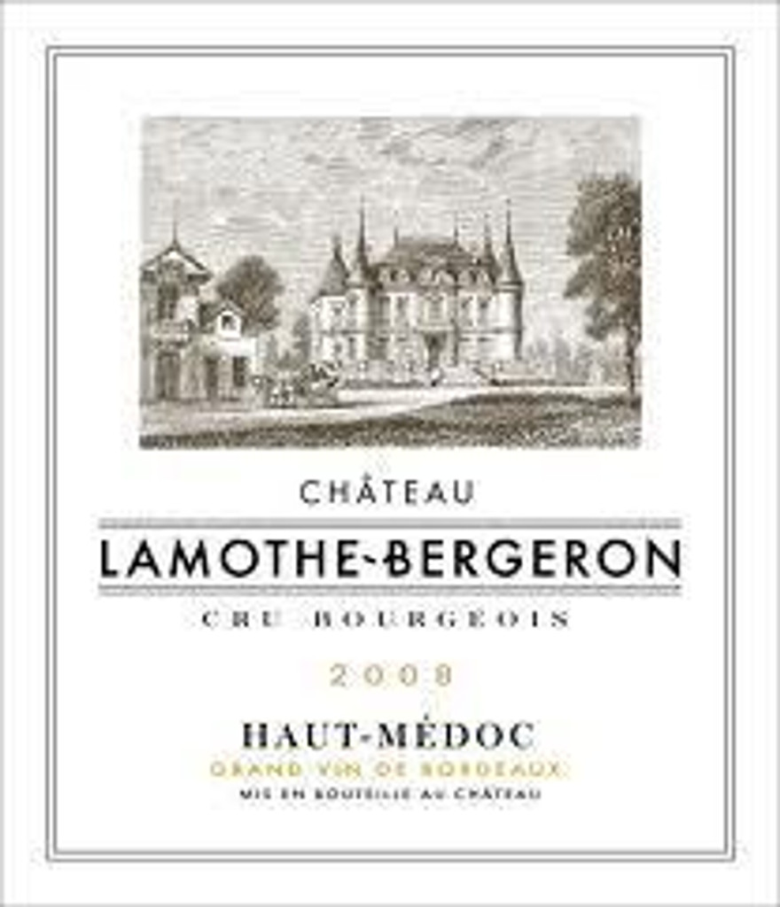 Château Lamothe Bergeron 2018 Haut Medoc 6 x 75cl