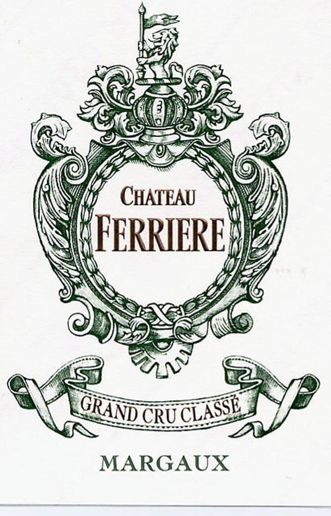 Château Ferriere 2018 Margaux Troisieme Cru Classe 12 x 75cl