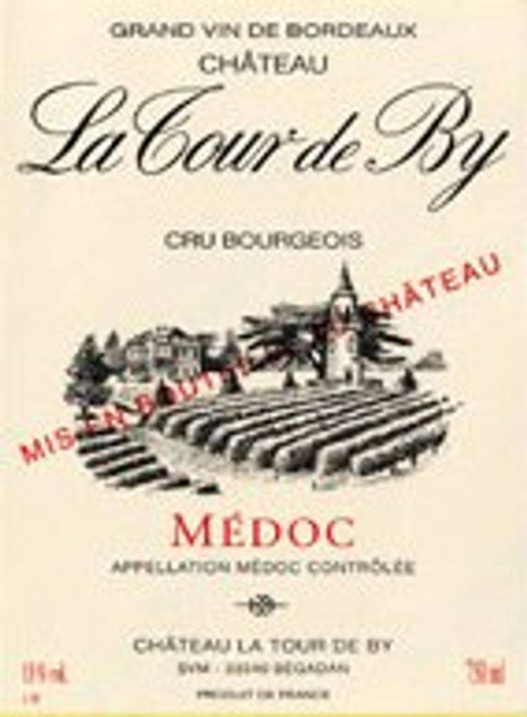 Chǽteau La Tour de By 2018 Medoc 12 x 75cl