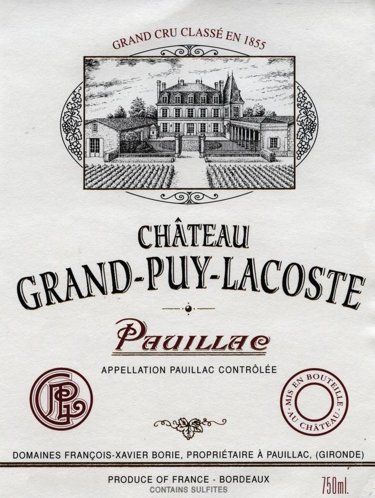 Château Grand Puy Lacoste 2018 Pauillac Cinquieme Cru Classe 12 x 75cl