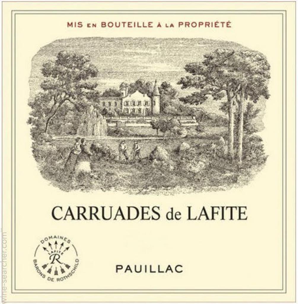 Château Lafite Rothschild Carruades de Lafite 2018 Pauillac 12 x 75cl