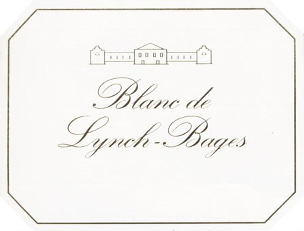 Château Lynch Bages Blanc 2018 Pauillac 12 x 75cl