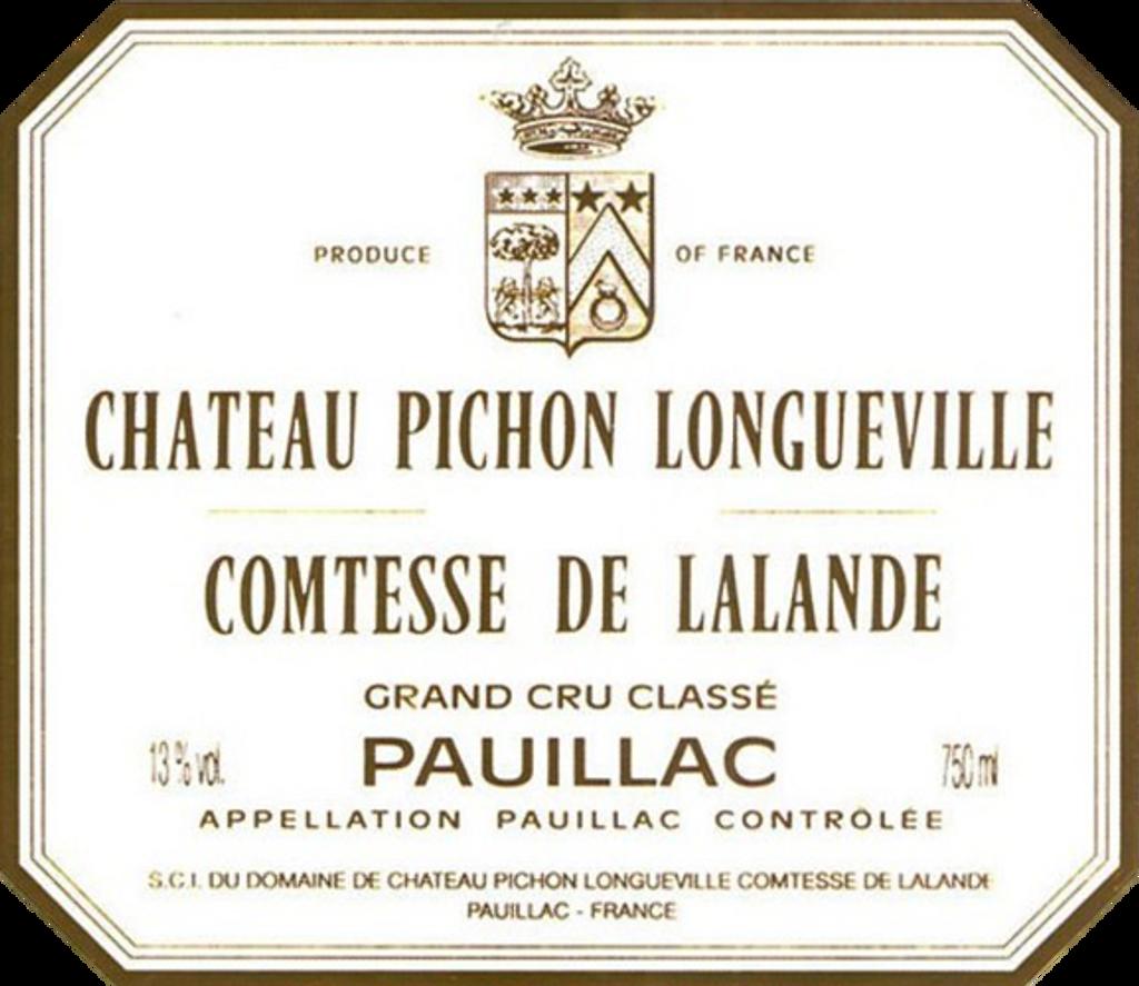 Château Pichon Lalande Longueville 2018 Pauillac Deuxieme Cru Classe 12 x 75cl