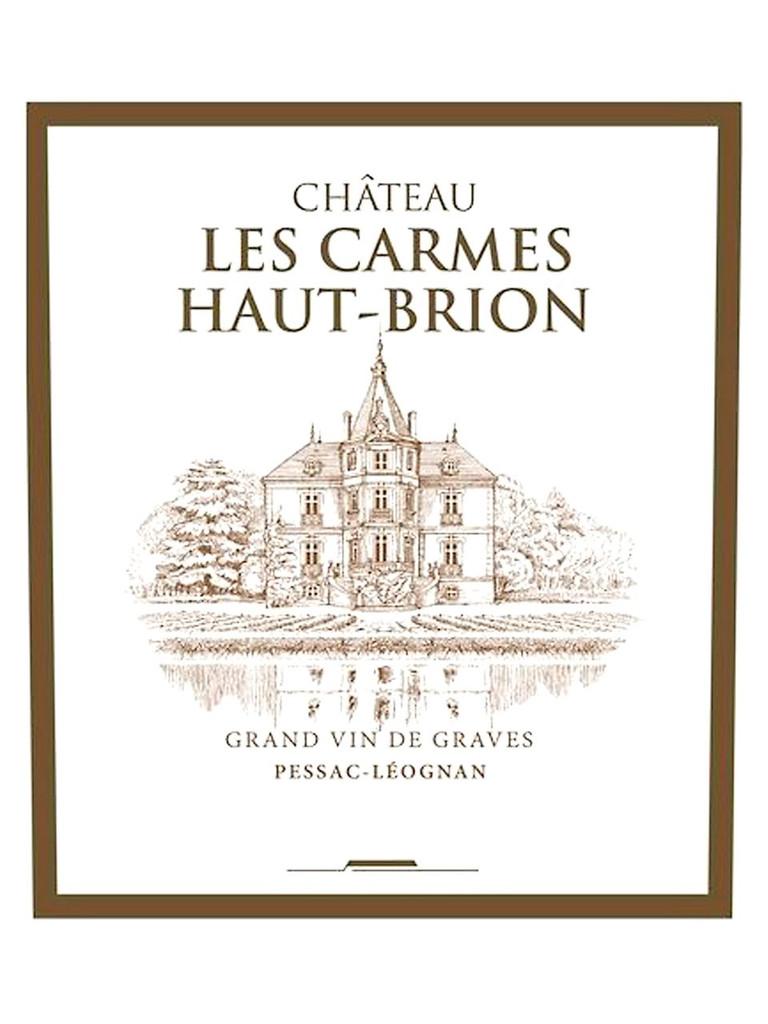 Château Les Carmes Haut Brion 2018 Pessac Leognan 6 x 75cl