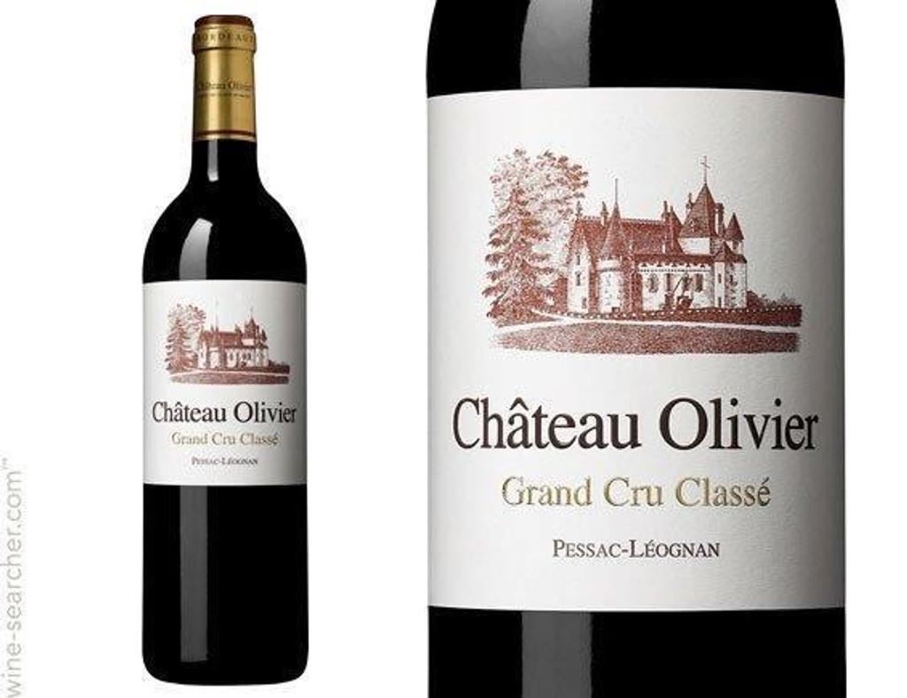 Château Olivier 2018 Pessac Leognan 6 x 75cl
