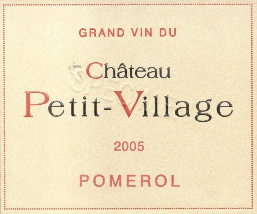 Château Petit Village 2018 Pomerol 12 x 75cl