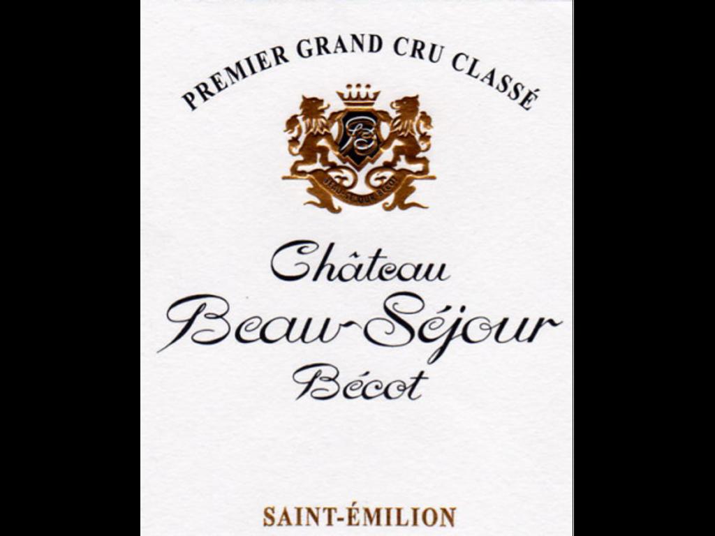 Château Beau Sejour Becot 2018 Saint Emilion Premier Grand Cru Classe B 12 x 75cl