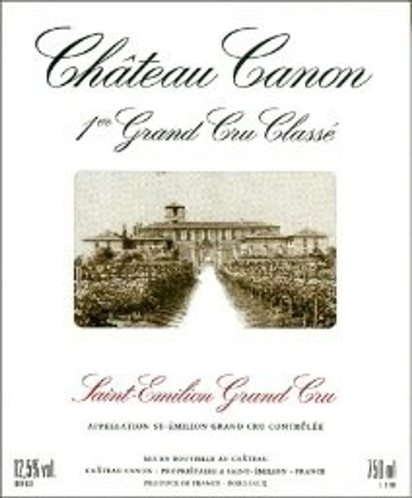 Château Canon 2018 Saint Emilion Premier Grand Cru Classe B 6 x 75cl