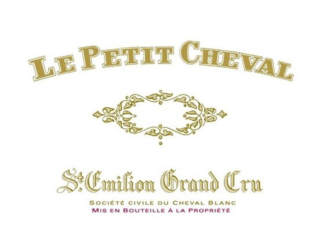 Château Cheval Blanc Petit Cheval 2018 Saint Emilion 12 x 75cl