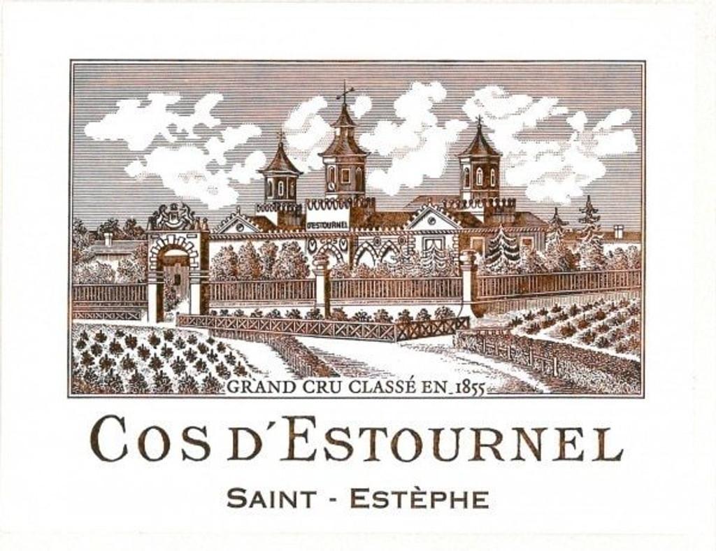 Château Cos D'Estournal 2018 Saint Estephe Deuxieme Cru Classe 6 x 75cl