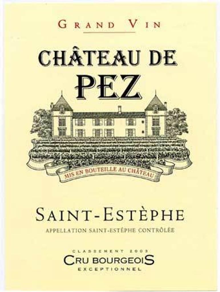 Château de Pez 2018 Saint Estephe 6 x 75cl