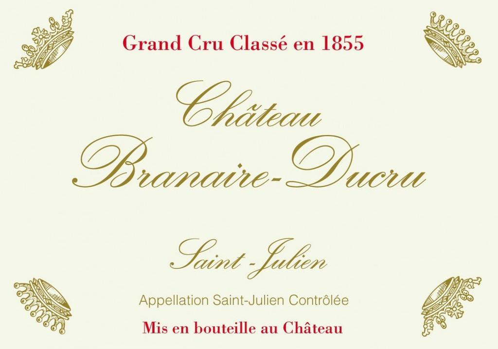 Château Branaire Ducru 2018 Saint Julien Quatrieme Cru Classe 12 x 75cl
