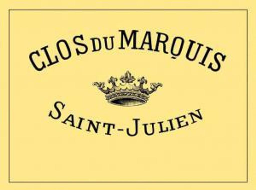 Clos de Marquis 2018 Saint Julien 12 x 75cl