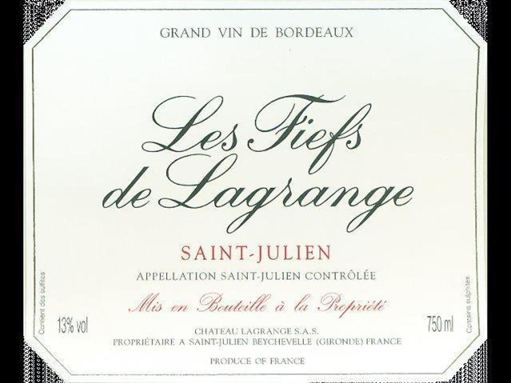 Château Fiefs de Lagrange 2018 Saint Julien 12 x 75cl