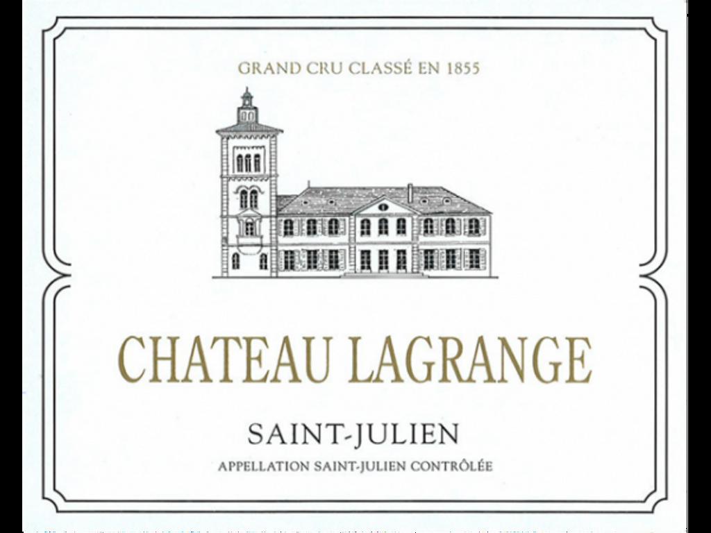 Château Lagrange 2018 Saint Julien Troisieme Cru Classe 12 x 75cl