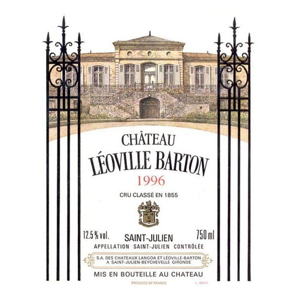 Château Leoville Barton 2018 Saint Julien Deuxieme Cru Classe 12 x 75cl