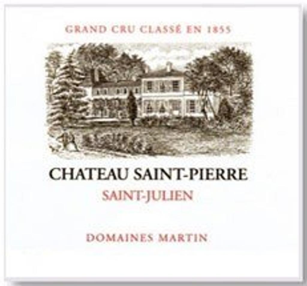 Château Saint Pierre 2018 Saint Julien Quatrieme Cru Classe 12 x 75cl