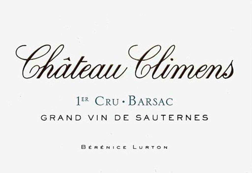 Château Climens 2018 Sauternes Premier Cru 12 x 75cl