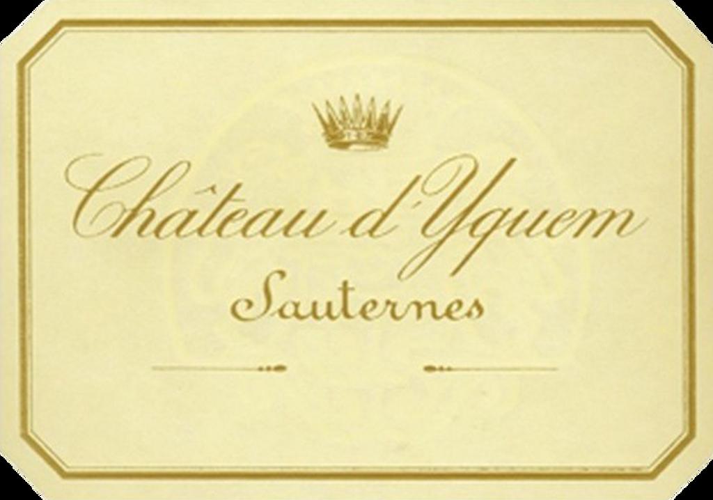 Château Yquem 2018 Sauternes Premier Cru Superieur 12 x 75cl