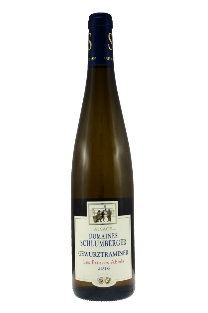 Gewurztraminer Les Princes Abbes Domaines Schlumberger, Alsace, France, 2016