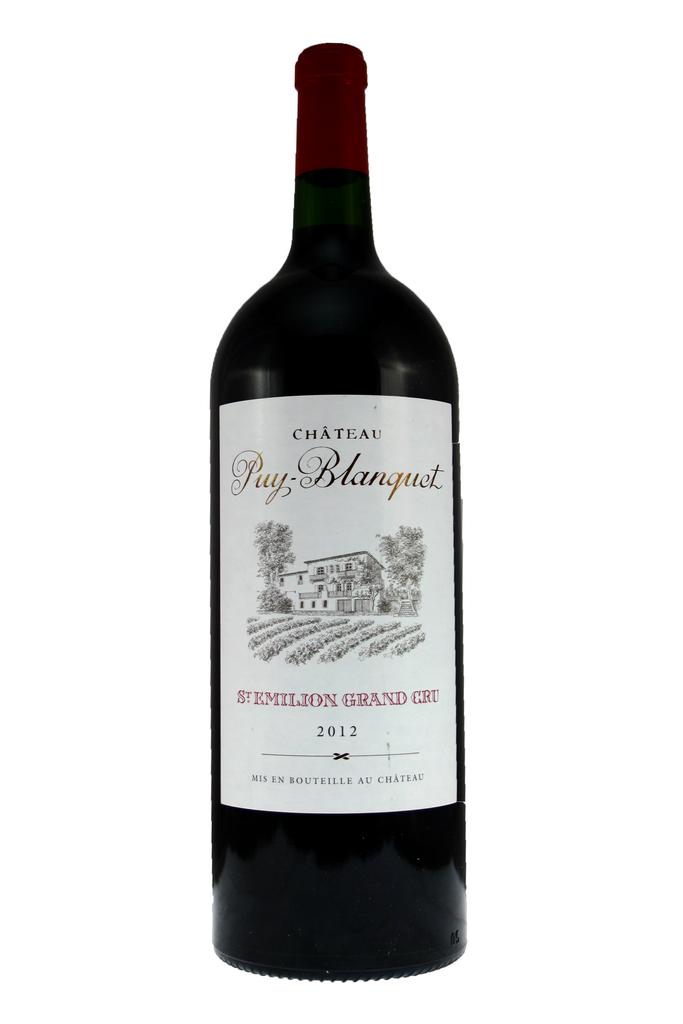 Château Puy Blanquet Magnum 2012, St Emilion Grand Cru, Bordeaux, France