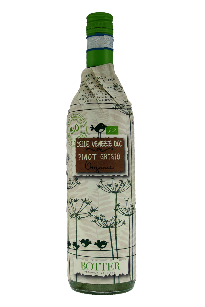 Pinot Grigio Delle Venezie DOC Organic, Wrap Around, Botter, 2018