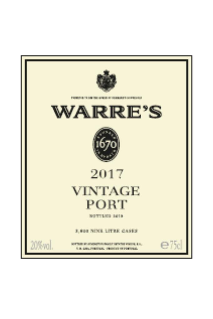 Warre's Vintage Port 2017 6 x 75cl
