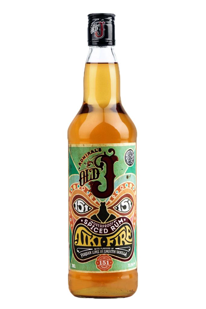 Admiral Vernon`s Old J Tiki Fire Rum
