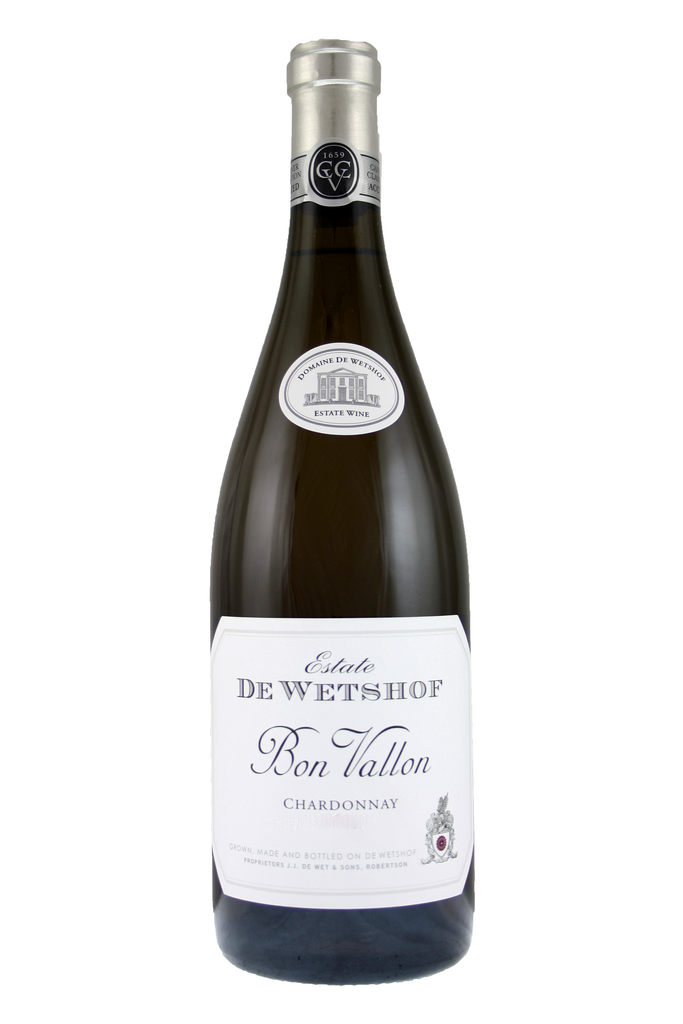 De Wetshof Bon Vallon Unwooded Chardonnay, Robertson, South Africa 2019