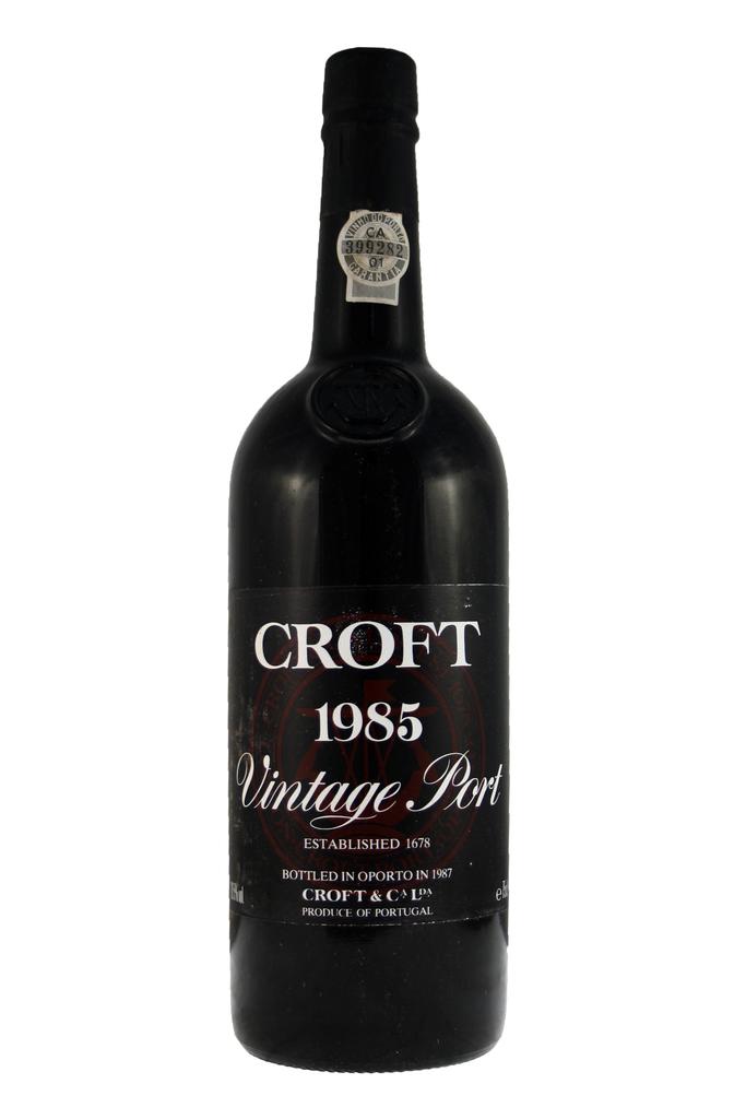 Croft 1985 Vintage Port Case 12x75cl